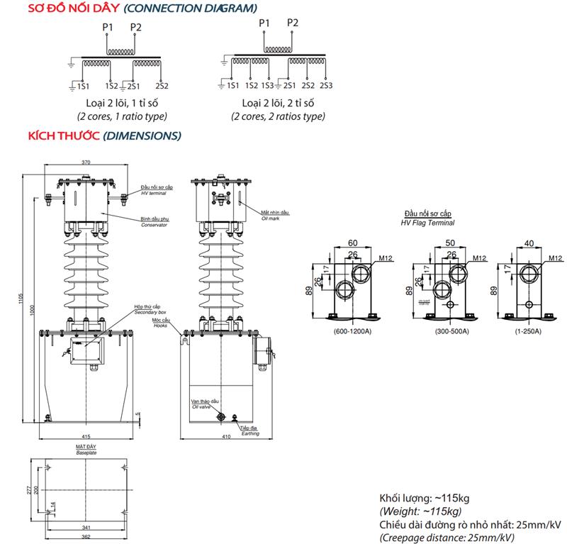 Sơ đồ đấu dây CT35-2CxODxC