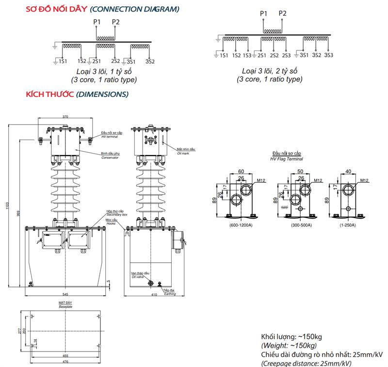 Sơ đồ đấu dây CT35-3CxODxC